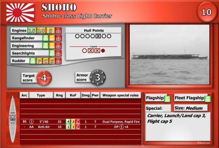 Shoho-class Light Carrier