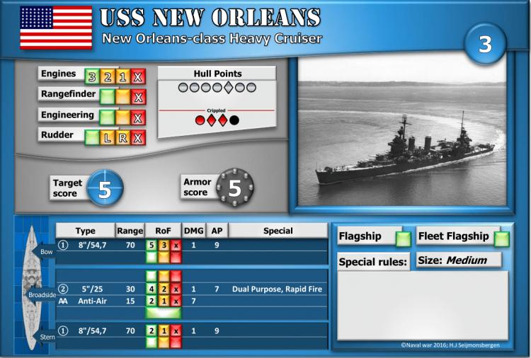 New Orleans-class Heavy Cruiser